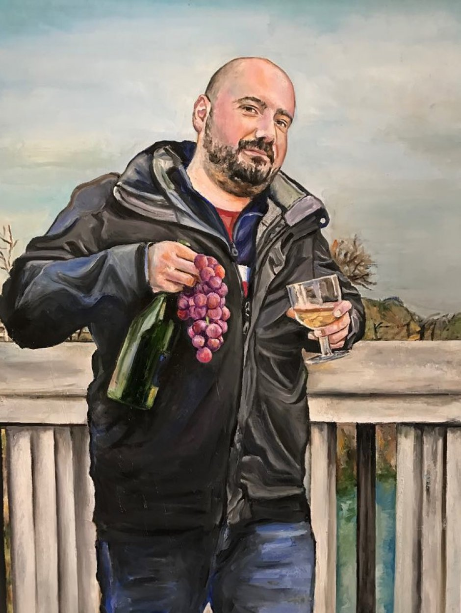 Danilo as a modern day Bacchus