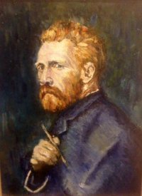 Painting of Vincent Van Gogh