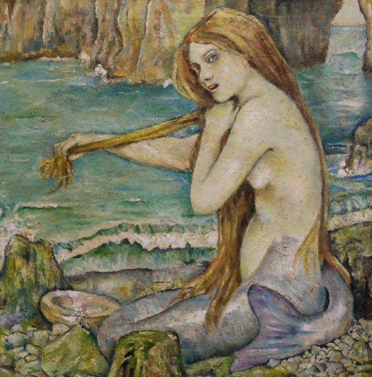 a-mermaid-john-william-waterhouse