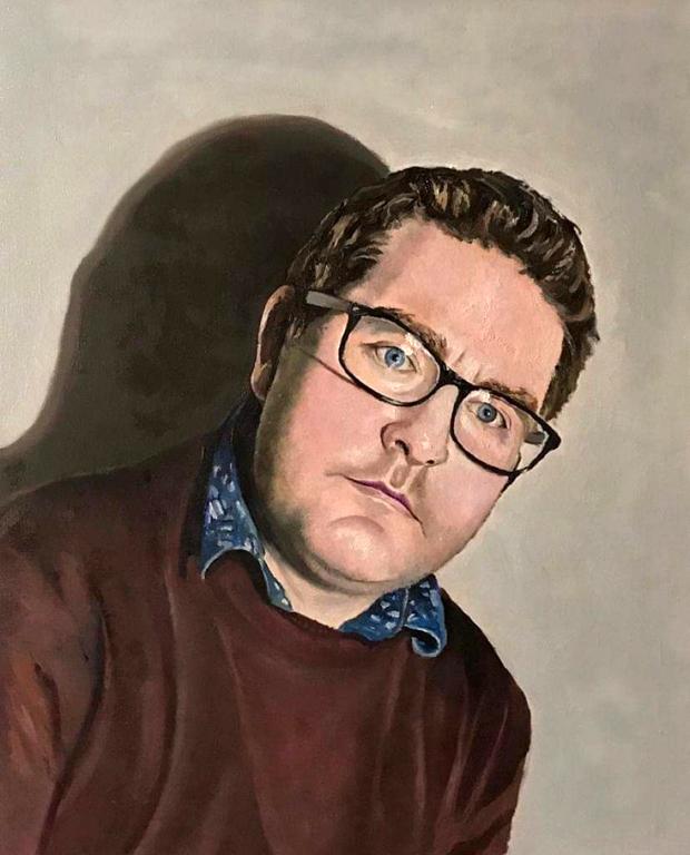 Jimmy Kennedy Self Portrait